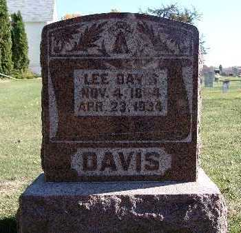 DAVIS, LEE - Warren County, Iowa | LEE DAVIS