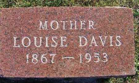 DAVIS, LOUISE - Warren County, Iowa | LOUISE DAVIS