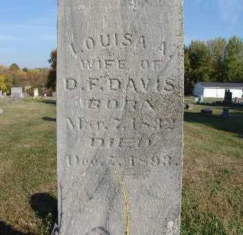 DAVIS, LOUISA A. - Warren County, Iowa | LOUISA A. DAVIS