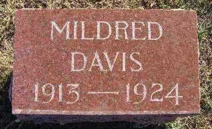 DAVIS, MILDRED - Warren County, Iowa | MILDRED DAVIS
