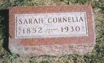 LECKY DAVIS, SARAH CORNELIA - Warren County, Iowa | SARAH CORNELIA LECKY DAVIS