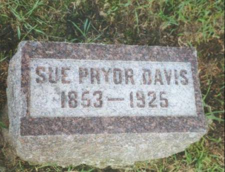 PRYOR DAVIS, SUSAN VIRGINIA (SUE) (PRYOR - Warren County, Iowa | SUSAN VIRGINIA (SUE) (PRYOR PRYOR DAVIS