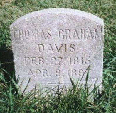 DAVIS, THOMAS GRAHAM - Warren County, Iowa | THOMAS GRAHAM DAVIS