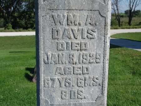 DAVIS, WM. A - Warren County, Iowa | WM. A DAVIS