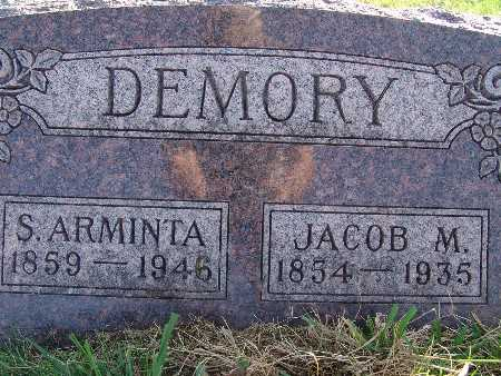 DEMORY, JACOB M. - Warren County, Iowa | JACOB M. DEMORY