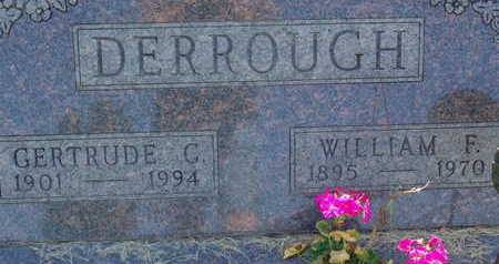 DERROUGH, GERTRUDE C - Warren County, Iowa | GERTRUDE C DERROUGH