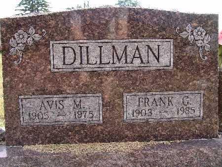 DILLMAN, AVIS M. - Warren County, Iowa | AVIS M. DILLMAN