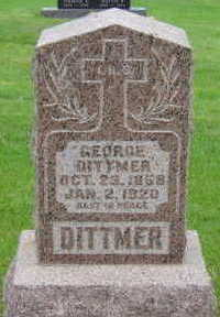 DITTMER, GEORGE - Warren County, Iowa | GEORGE DITTMER
