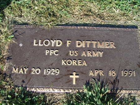 DITTMER, LLOYD F. - Warren County, Iowa | LLOYD F. DITTMER