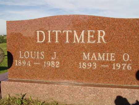 DITTMER, LOUIS J. - Warren County, Iowa | LOUIS J. DITTMER
