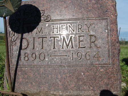 DITTMER, WM HENRY - Warren County, Iowa | WM HENRY DITTMER