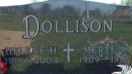 DOLLISON, HELENE H - Warren County, Iowa | HELENE H DOLLISON