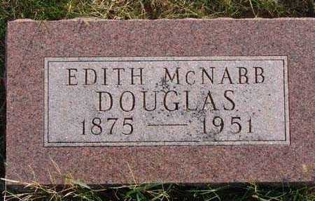 DOUGLAS, EDITH MCNABB - Warren County, Iowa | EDITH MCNABB DOUGLAS