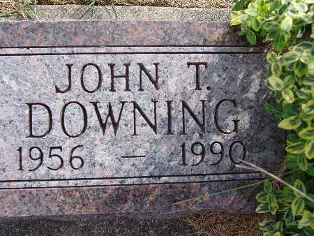 DOWNING, JOHN T. - Warren County, Iowa | JOHN T. DOWNING