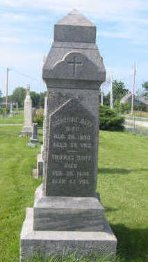 DUFF, THOMAS - Warren County, Iowa   THOMAS DUFF
