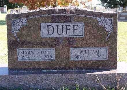 DUFF, WILLIAM - Warren County, Iowa | WILLIAM DUFF
