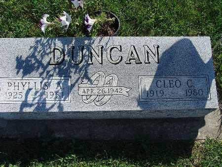 DUNCAN, CLEO C - Warren County, Iowa | CLEO C DUNCAN