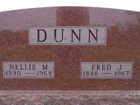 DUNN, NELLIE M. - Warren County, Iowa | NELLIE M. DUNN