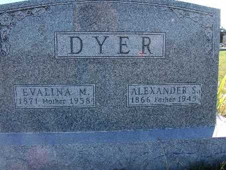 DYER, EVALINA M. - Warren County, Iowa | EVALINA M. DYER