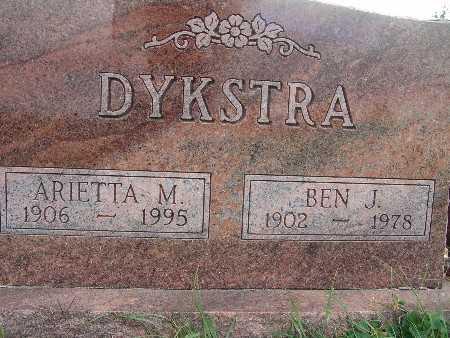 DYKSTRA, ARIETTA M. - Warren County, Iowa | ARIETTA M. DYKSTRA