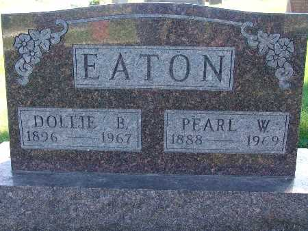 EATON, DOLLIE B - Warren County, Iowa | DOLLIE B EATON