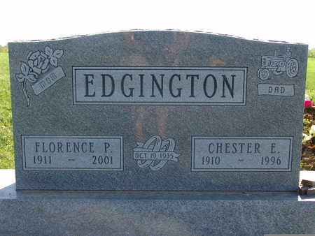 EDGINGTON, FLORENCE P - Warren County, Iowa | FLORENCE P EDGINGTON