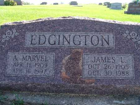 EDGINGTON, JAMES L - Warren County, Iowa | JAMES L EDGINGTON
