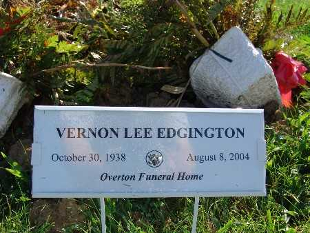 EDGINGTON, VERNON LEE - Warren County, Iowa | VERNON LEE EDGINGTON