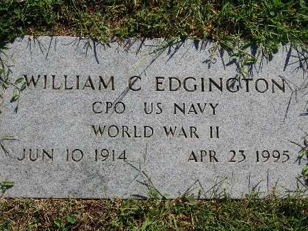 EDGINGTON, WILLIAM C - Warren County, Iowa | WILLIAM C EDGINGTON