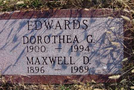 EDWARDS, DOROTHEA G. - Warren County, Iowa | DOROTHEA G. EDWARDS