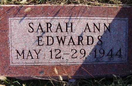 EDWARDS, SARAH ANN - Warren County, Iowa | SARAH ANN EDWARDS