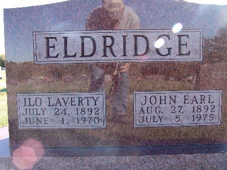 ELDRIDGE, ILO LAVERTY - Warren County, Iowa | ILO LAVERTY ELDRIDGE