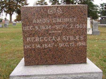 EMBREE, AMOS - Warren County, Iowa | AMOS EMBREE
