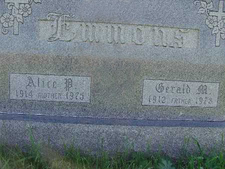 EMMONS, GERALD M. - Warren County, Iowa | GERALD M. EMMONS