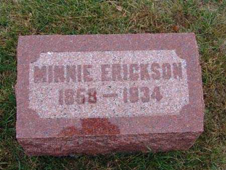 ERICKSON, MINNIE - Warren County, Iowa | MINNIE ERICKSON