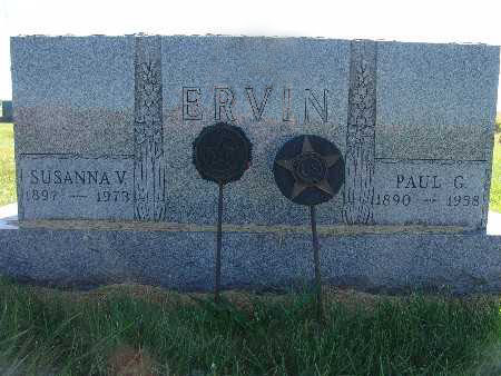 ERVIN, PAUL G. - Warren County, Iowa | PAUL G. ERVIN