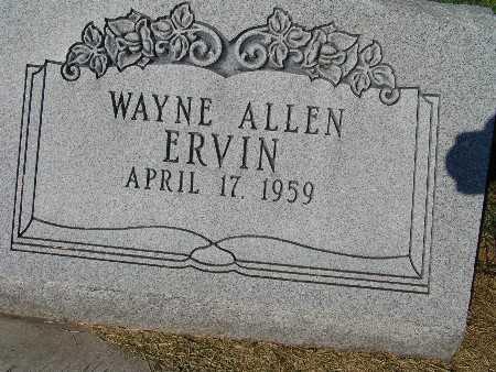 ERVIN, WAYNE ALLEN - Warren County, Iowa | WAYNE ALLEN ERVIN