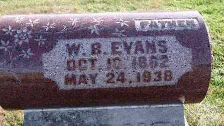 EVANS, W. B. - Warren County, Iowa | W. B. EVANS