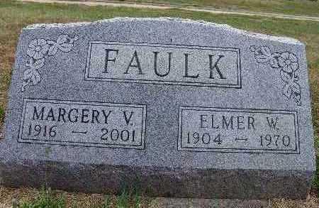 FAULK, ELMER W. - Warren County, Iowa | ELMER W. FAULK