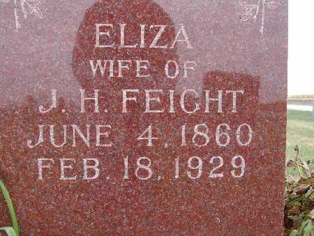 FEIGHT, ELIZA - Warren County, Iowa | ELIZA FEIGHT