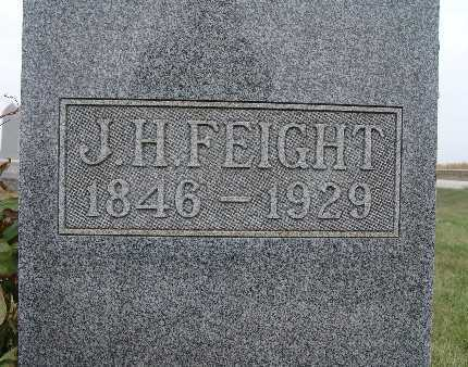 FEIGHT, J. H. - Warren County, Iowa | J. H. FEIGHT