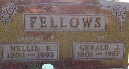 FELLOWS, NELLIE E - Warren County, Iowa | NELLIE E FELLOWS