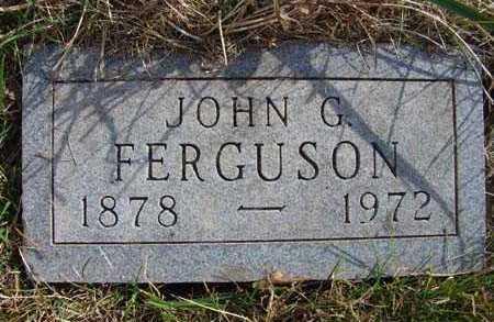 FERGUSON, JOHN G. - Warren County, Iowa | JOHN G. FERGUSON