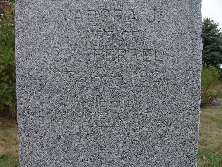 FERREL, MADORA J. - Warren County, Iowa | MADORA J. FERREL