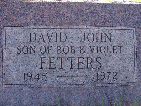 FETTERS, DAVID JOHN - Warren County, Iowa | DAVID JOHN FETTERS