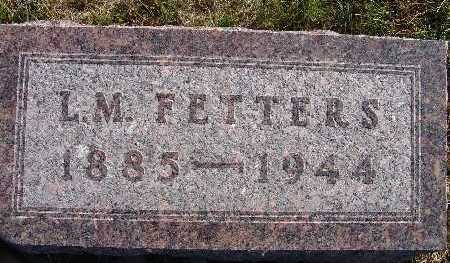 FETTERS, L. M. - Warren County, Iowa | L. M. FETTERS