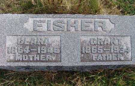 FISHER, CLARA - Warren County, Iowa | CLARA FISHER