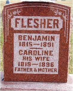 FLESHER, BENJAMIN (B.F.) - Warren County, Iowa | BENJAMIN (B.F.) FLESHER