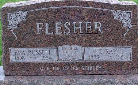 RUSSELL FLESHER, EVA - Warren County, Iowa | EVA RUSSELL FLESHER