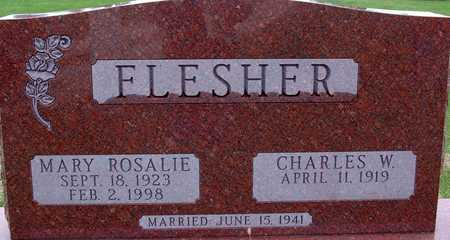 FLESHER, MARY ROSALIE - Warren County, Iowa | MARY ROSALIE FLESHER